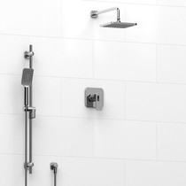 Riobel Equinox 2-way Thermostatic Shower System Chrome Finish