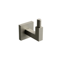Riobel KS Robe Hook Brushed Nickel - KS0BN