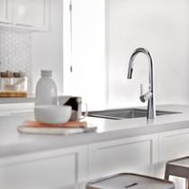 Riobel Ludik Kitchen Faucet with Spray Chrome