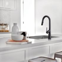 Riobel Ludik Kitchen Faucet with Spray Matte Black