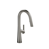 Riobel Ludik Kitchen Faucet with Spray Stainless Steel