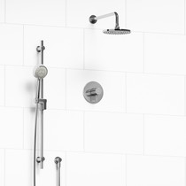 Riobel Pallace 2-way Thermostatic Shower System Chrome Finish