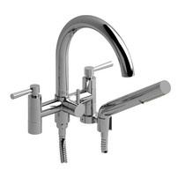 "Riobel Pallace 6"" Tub Filler with Hand Shower Chrome"