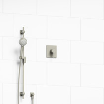Riobel Pallace Type P (Pressure Balance) Shower with Square Cover Plate Brushed Nickel