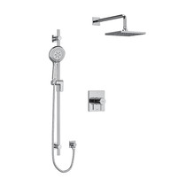 "Riobel Pallace Type T/P 1/2"" Coaxial 2-Way System with Hand Shower and Shower Head Chrome"