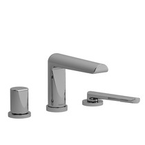 Riobel Parabola 3-Piece Deck-Mount Tub Filler with Hand Shower Chrome