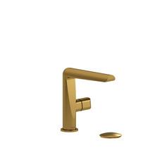 Riobel Parabola Single Hole Lavatory Faucet Brushed Gold