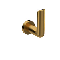 Riobel Parabola Towel Hook Brushed Gold - PB7BG
