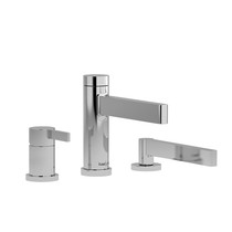 Riobel Paradox 3-Piece Type P (Pressure Balance) Deck-Mount Tub Filler with Hand Shower Chrome