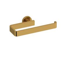 Riobel Paradox Towel Ring Brushed Gold - PX7BG