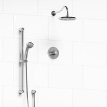 Riobel Retro 2-Way Thermostatic Shower System Chrome Finish