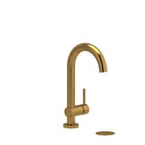 Riobel Riu Single Hole Lavatory Faucet Brushed Gold
