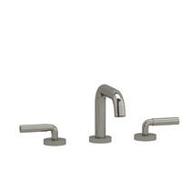 """Riobel Riu Square 8"""" Lavatory Faucet Brushed Nickel"""
