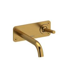 Riobel Riu Wall-Mount Lavatory Faucet Brushed Gold