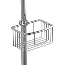 """Riobel Shower Rail Basket, Ø OF 17MM IN 22MM (5/8 """" FOR 7/8 """") Chrome"""