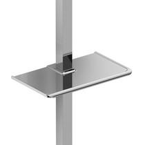 Riobel Soap Dish for Square Sliding Bar Chrome