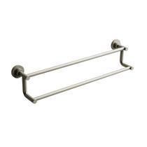 "Riobel Star 60 cm (24"") Double Towel Bar Brushed Nickel - ST6BN"