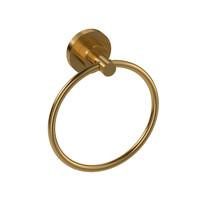 Riobel Star Towel Ring Brushed Gold - ST7BG