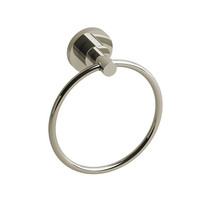 Riobel Star Towel Ring Polished Nickel - ST7PN