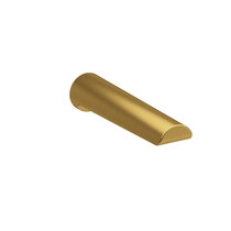 Riobel Wall-Mount Tub Spout Brushed Gold - PB80BG