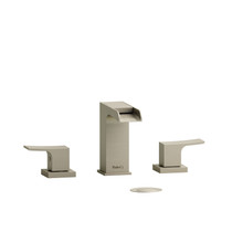 "Riobel Zendo 8"" Lavatory Open Spout Faucet Brushed Nickel"