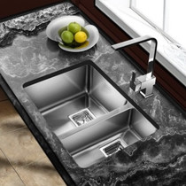 "Castle Bay Pyke 70/30 Kitchen Sink Double Bowl  29"" x 16"""