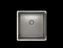 PROCHEF ProInox H75 Single Bowl Undermount Kitchen Sink ProInox H75 18-gauge Stainless Steel, 16'' x 16'' x 8'