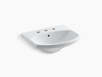 """Bathroom sink with 8"""" widespread faucet holes"""