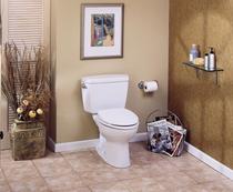 Toto Eco Drake Two-Piece Toilet, 1.28 GPF, Elongated Bowl