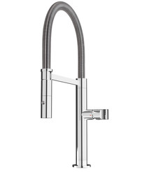 Rubi Volta Single Lever Professional Style Kitchen Faucet Chrome