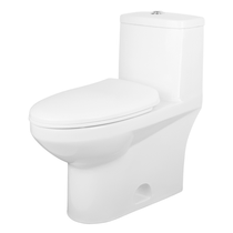 Rubi Kana One Piece Dual Flush Toilet White