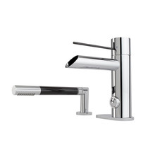 Rubi Kronos Two-Piece Bathtub Faucet Chrome