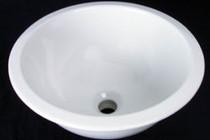 Deca Over Mount Porcelain Sink Bowl 16.5 x 16.5