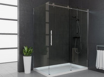 "48"" Mirolin Roll Top Shower Door"
