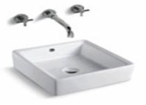 """Ava Countertop Over Mount Bathroom Sink 16.5"""" x 16.5"""" x 5.9"""""""