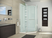 "Mirolin 38"" Neo-Angle Shower Package with Walls"