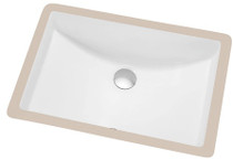"Modern Undermount Bathroom Sink 21"" x 14.5"""