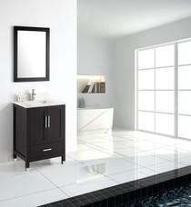 """Armada 24"""" Bathroom Vanity Espresso"""