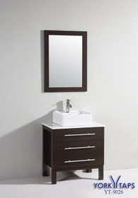 "Carnival 28"" Bathroom Vanity with Over Mount Sink"