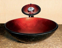 """Ruby Overmount Sink Bowl 16 x 16"""""""