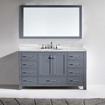 "Armada 60"" Single Sink Bathroom Vanity Espresso"