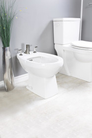 Contrac Cale 4-hole bidet Vertical Spray