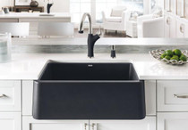 BLANCO IKON 30 Granite composite sink in SILGRANIT PuraDur Black