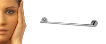 "Rubi Chloé - Viso RCA04CC Wall-mounted 18"" towel holder bar Chrome"