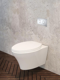 Caroma Somerton Invisi Series II Wall Mount Toilet
