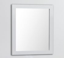 "Royal Wall Framed Vanity Matching Mirror 30"" White"
