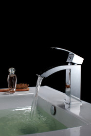 Royal Fall Single Handle Lav Faucet Chrome