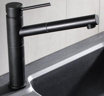 Blanco Kitchen Faucet Alta Series Alta Dual Spray Anthracite