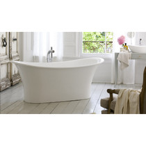 Victoria and Albert Bath Marlborough MAR-N-SW Volcanic Limestone and Resin Free Standing Bathtub