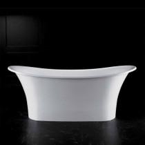 Victoria Albert Bath Toulouse TOU-N-SW Volcanic Limestone Resin Free Standing Bathtub